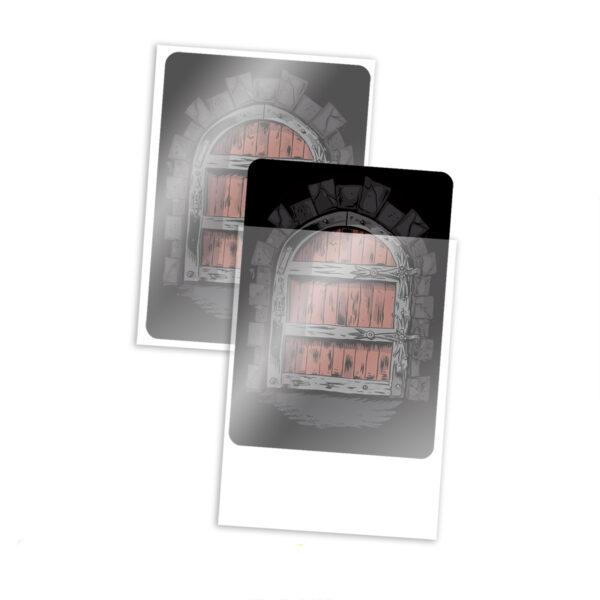 bustine trasparenti carte