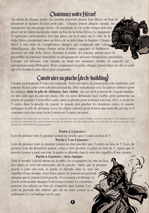 Village of Legends - French Rulebook