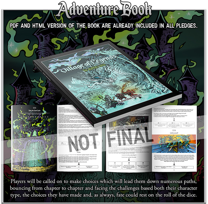Reaper's Hand Adventure Book