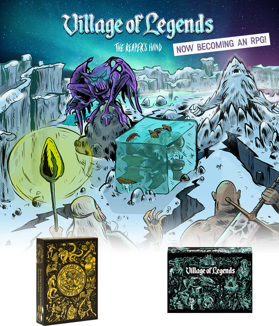 Village of Legends - The Reaper's Hand
