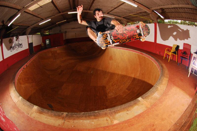 Village of Legends skateboard deck
