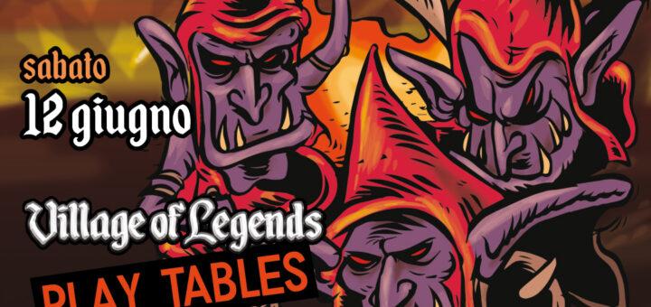 Village of Legends treviglio in gioco