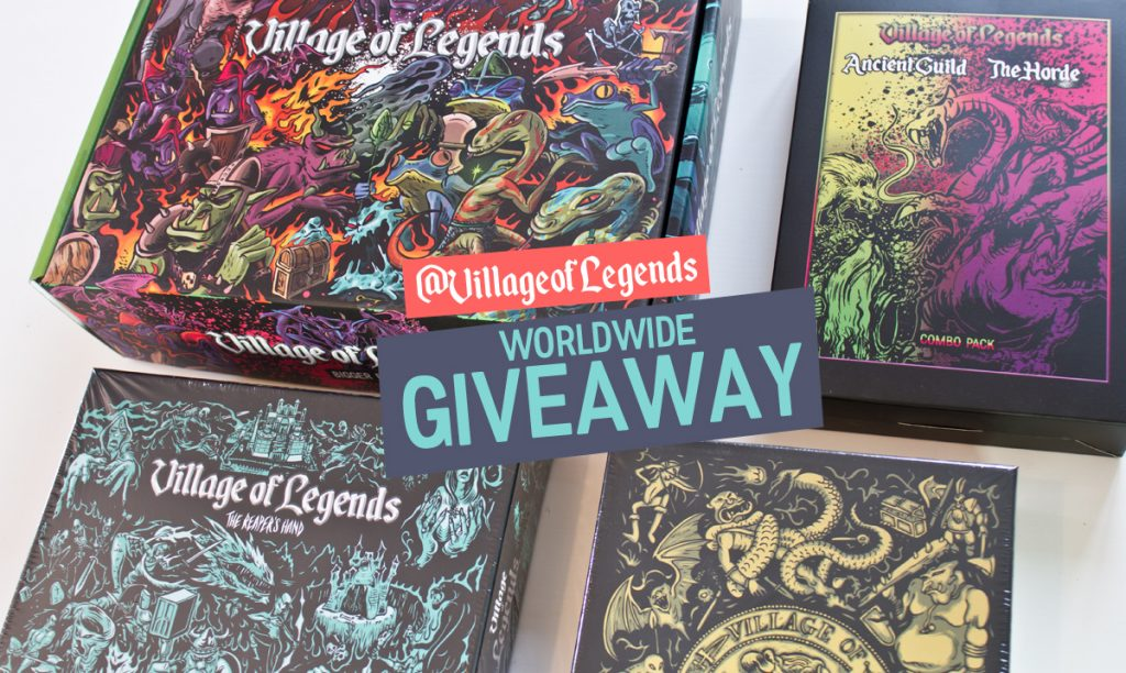 Boardgames giveaway
